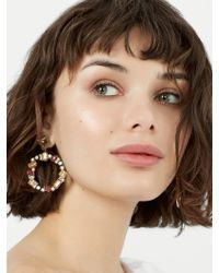 BaubleBar - Multicolor Leora Hoop Earrings - Lyst