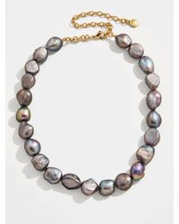 BaubleBar Multicolor Lacey Pearl Statement Necklace