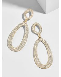 BaubleBar - Multicolor Daviana Hoop Earrings - Lyst
