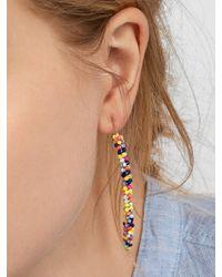 BaubleBar Black Cait Drop Earrings