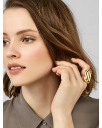 BaubleBar - Multicolor Camelot Ring - Lyst