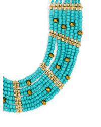 BaubleBar - Blue Briya Necklace - Lyst