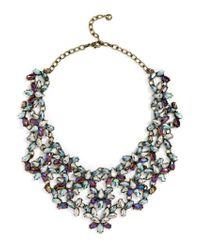 BaubleBar | Majesty Crystal Bib-blue | Lyst