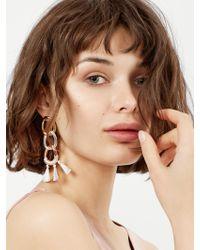 BaubleBar - Multicolor Fortuna Chain-link Earrings - Lyst
