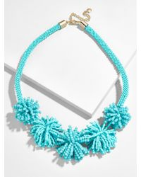 BaubleBar - Blue Riviera Statement Necklace - Lyst