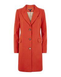 Baukjen Red Henshaw City Coat