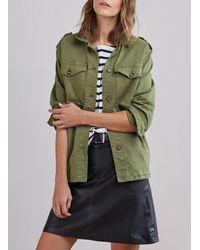 Baukjen Black Kara Leather Skirt