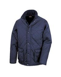 Result Steppjacke Urban Cheltenham Jacke in Blue für Herren
