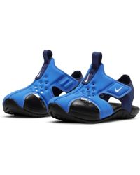 Nike Blue Badesandale SUNRAY PROTECT 2