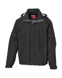 Result Funktionsjacke Urban Outdoor Jacke / Multifunktionsjacke in Black für Herren