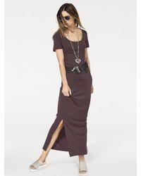 RICK CARDONA by Heine Brown Jerseykleid Jersey-Kleid