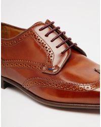 PS by Paul Smith | Brown Aldrich Derby Brogues for Men | Lyst