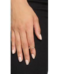 Vita Fede   Pink Crystal Ultra Mini Titan Ring   Lyst