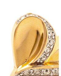 Nina Ricci - Metallic Heart Shaped Earrings - Lyst