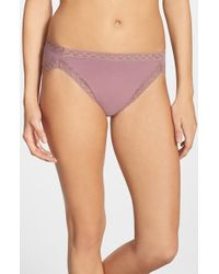Natori | Pink 'bliss' French Cut Briefs | Lyst