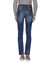 5preview - Blue Denim Trousers for Men - Lyst