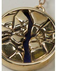Pamela Love - Metallic 'titan Medallion' Necklace - Lyst