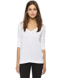 Rag & Bone | White - Daria Layered Silk-crepe Top - Ivory | Lyst