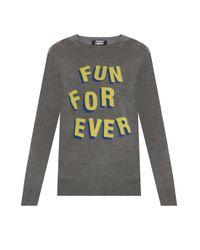 Markus Lupfer | Gray Fun Forever Natalie Knitwear | Lyst