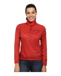 Patagonia | Red Houdini Pullover | Lyst