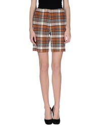 See By Chloé - Brown Bermuda Shorts - Lyst