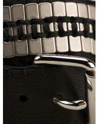 Jean-Francois Mimilla | Black Wrap Bracelet | Lyst