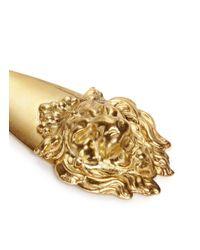 Ela Stone - Metallic Leo Lion Head Earrings - Lyst