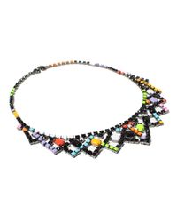 Tom Binns | Multicolor Crystal and Resin Necklace | Lyst