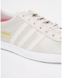Adidas Originals - Gray Originals Gazelle Grey Trainers - Lyst