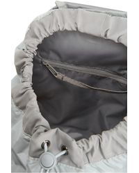 Adidas By Stella McCartney Gray Weekender Shell Backpack
