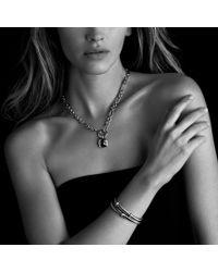 David Yurman - Metallic Cable Classics Twostation Bracelet with Gold - Lyst