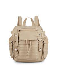 Steve Madden | Natural Broller Faux Leather Backpack | Lyst