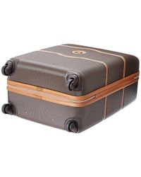 """Delsey - Brown Chatelet 24"""" Spinner Trolley - Lyst"""