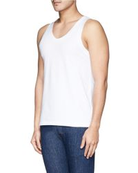Dolce & Gabbana White 'day By Day' Tank Undershirt 2-pack Set for men