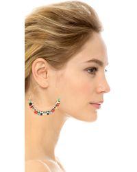 Gas Bijoux Comedia Earrings - Blue Multi