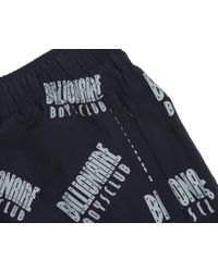 BBCICECREAM Blue Repeat Print Track Pant - Navy