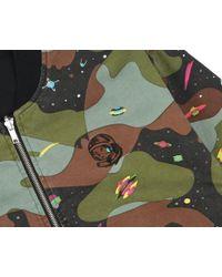 BBCICECREAM Space Camo Reversible Bomber - Black/camo for men