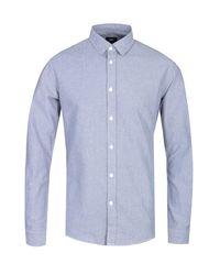Edwin Kodiac Long Sleeve Blue Shirt for men