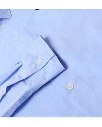 WOOD WOOD Sky Blue Long Sleeve Kay Shirt for men