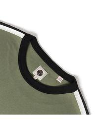 Pretty Green Green Khaki Tilby T-shirt for men