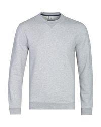 Pyrenex Gray Bazin Grey Marl Crew Neck Sweatshirt for men