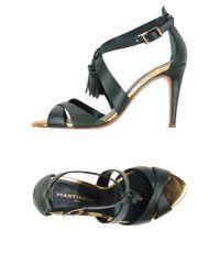 Martinelli | Metallic Sandals | Lyst
