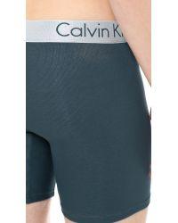 Calvin Klein Blue Dual Tone Boxer Briefs for men