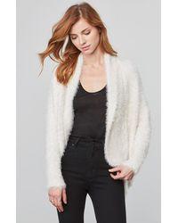 BB Dakota - White Sheryl Fuzzy Knit Cocoon Sweater - Lyst
