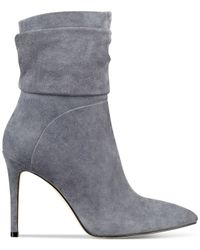 Guess | Gray Women's Vvidlet Dress Booties | Lyst