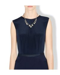 Hobbs | Metallic Simone Necklace | Lyst