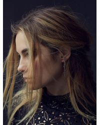 Free People | Metallic Vanessa Mooney Jewelry Womens Wildwest Cross Earrings | Lyst