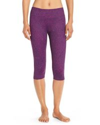 Zella | Purple Live In 2 Capri Pants | Lyst