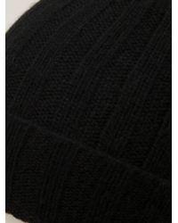 Paul Smith - Black Cashmere Beanie for Men - Lyst