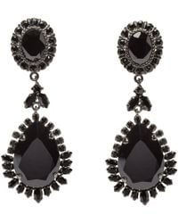 Givenchy | Black Victorian Chandelier Clip_on Earrings | Lyst